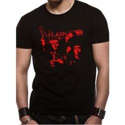 T-shirt THE CLASH BAND GUN