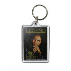 Porte-clefs acrylique Bob Marley  legend