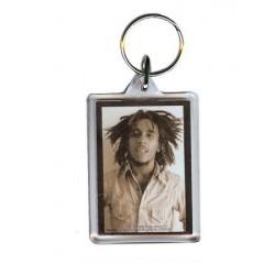 Porte-clefs acrylique Bob Marley  sepia