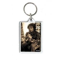 Porte-clefs acrylique Bob Marley sepia (ds)