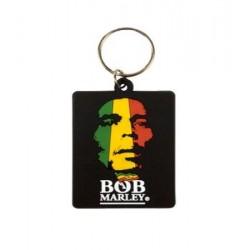 Porte-clefs plastique Bob Marley