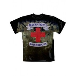 T-shirt Bon Jovi Bad Medecine