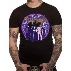 T-shirt DEEP PURPLE frame