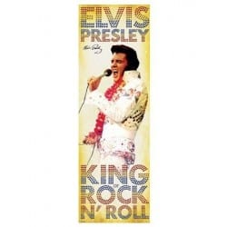 Poster door - Elvis Presley
