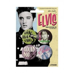 Badges Elvis Presley
