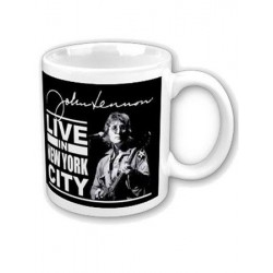 Mug JOHN LENNON live in New York city