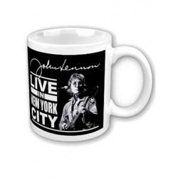 Mug JOHN LENNON live in New York city