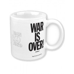 Mug JOHN LENNON war is over
