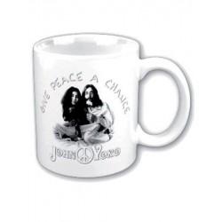 Mug JOHN LENNON Yoko give peace a chance