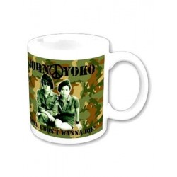 Mug JOHN LENNON I DON'T WANNA BE A SOLDIER