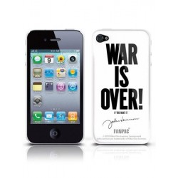 Coque IPhone 4G/4GS JOHN LENNON WAR IS OVER
