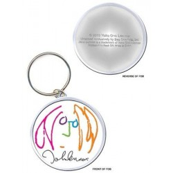 Porte-clefs JOHN LENNON SELF PORTRAIT IN FILL