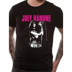 T-shirt JOEY RAMONE mic seal