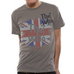 T-shirt THE WHO faded union