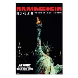 Poster Rammstein - New York