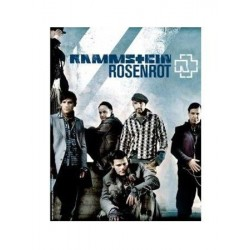 Poster Rammstein - Rosenrot