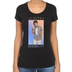 T-shirt femme Justin Bieber
