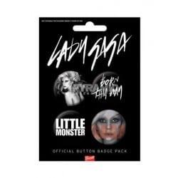 Badges Lady Gaga