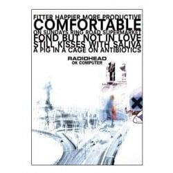 Maxi Poster radiohead  okcomputer