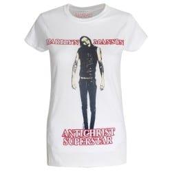 T-shirt femme Marilyn Manson Antichrist