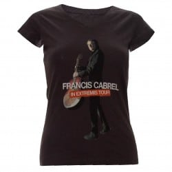 T-shirt affiche femme Francis Cabrel in Extremis Tour