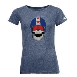 T-shirt femme skull Garorock