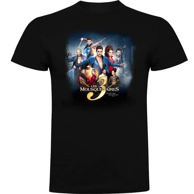 T-shirt affiche Les 3 Mousquetaires