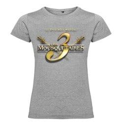 T-shirt femme logo Les 3 Mousquetaires