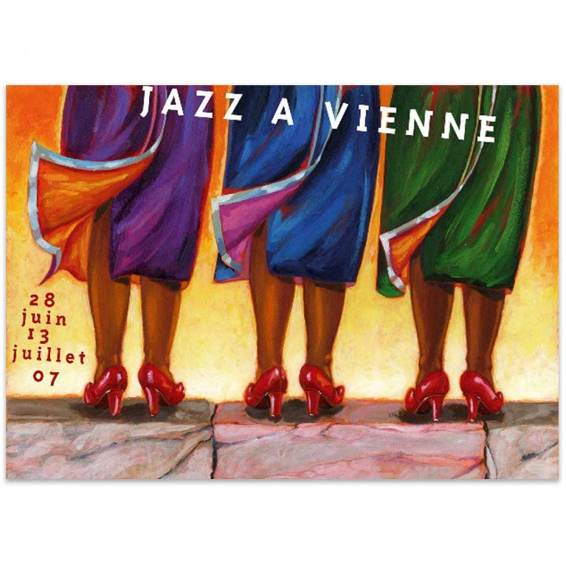 Affiche Jazz à Vienne 2007