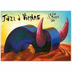 Affiche Jazz à Vienne 2012