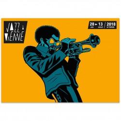 Affiche Jazz à Vienne 2018