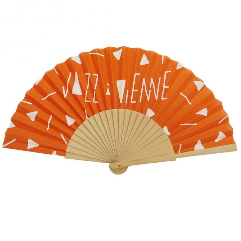 Eventail Orange Jazz à Vienne