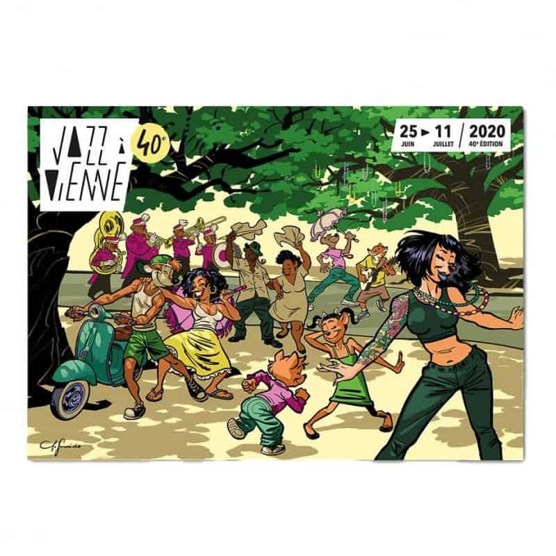 Affiche Jazz à Vienne 2020