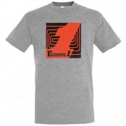 T-shirt Gris logo Orange Europe 1