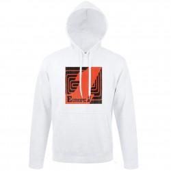Sweat blanc logo Orange Europe 1