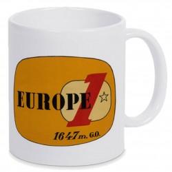 Mug logo jaune Europe 1