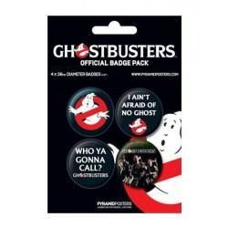 Pack de badges Ghostbusters