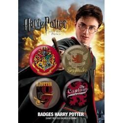 Badges Pack Harry Potter Captain