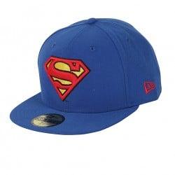 Casquette Superman - snapback bleue