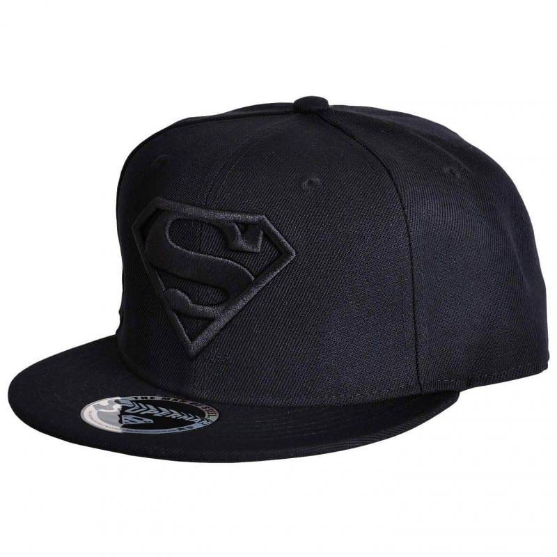 Casquette Superman - snapback noire