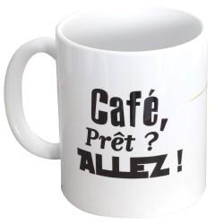 Mug escrime - café, prêt ? Allez !