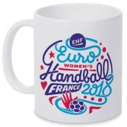 Mug Logo Euro Handball Blanc