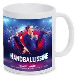 Mug Affiche Euro Handball Blanc