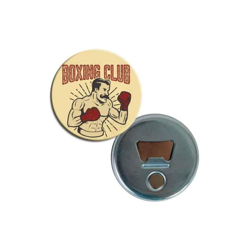 Badge Decapsuleur Boxing Club