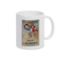Mug anciennes affiches 4 Salon mondial automobile