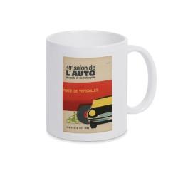 Mug anciennes affiches 15 Salon mondial automobile