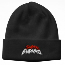Bonnet Logo Super Enduro Noir