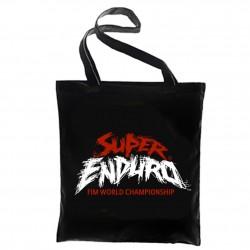 Tote Bag Logo Super Enduro Noir