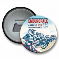 Badge Décapsuleur Afiche EndurOpale