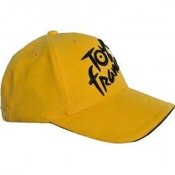 Casquette 6 pans jaune Tour de France 2020